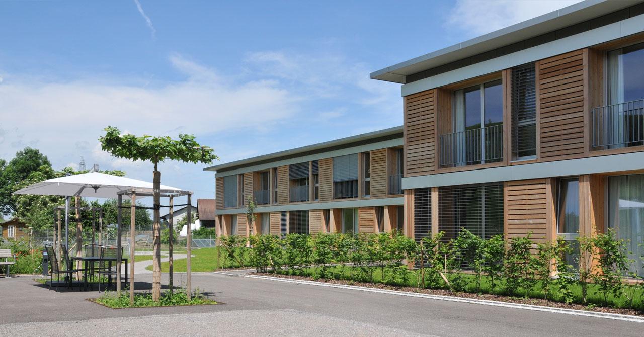 alters pflegezentrum loogarten reichle architekten ag. Black Bedroom Furniture Sets. Home Design Ideas